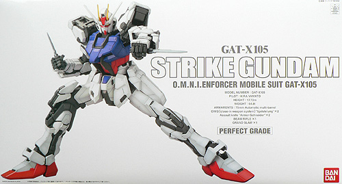 PG 1/60 GAT-X105 ストライクガンダム (機動戦士ガンダムSEED)(再販)【新品】 ガンプラ パーフェクトグレード プラモデル