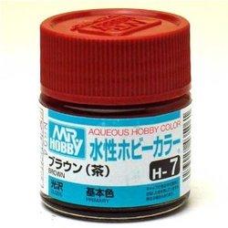【取寄せ品】【新品】【塗料】H-7ブラウン(茶)【GSIクレオス】【水性ホビーカラー】【メール便・ビジネスパック不可】
