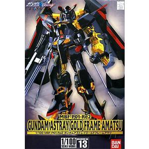 Gundam model kits 1 / 100 Gundam astray gold frame Amatsu Gundam SEED ASTRAY and astray Gundam Bandai hobby Robotics