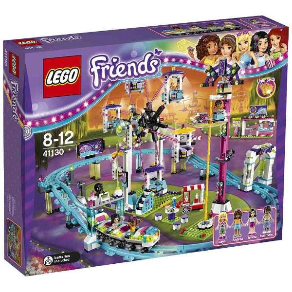 Game And Hobby Kenbill Lego Friends Amusement Park Roller Coaster