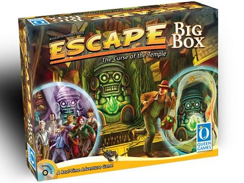 Escape The Curse of the Temple Big Box (エスケープ 神殿の呪いビッグボックス) 【並行輸入品】【新品】ボードゲーム アナログゲーム テーブルゲーム ボドゲ クリスマス プレゼント