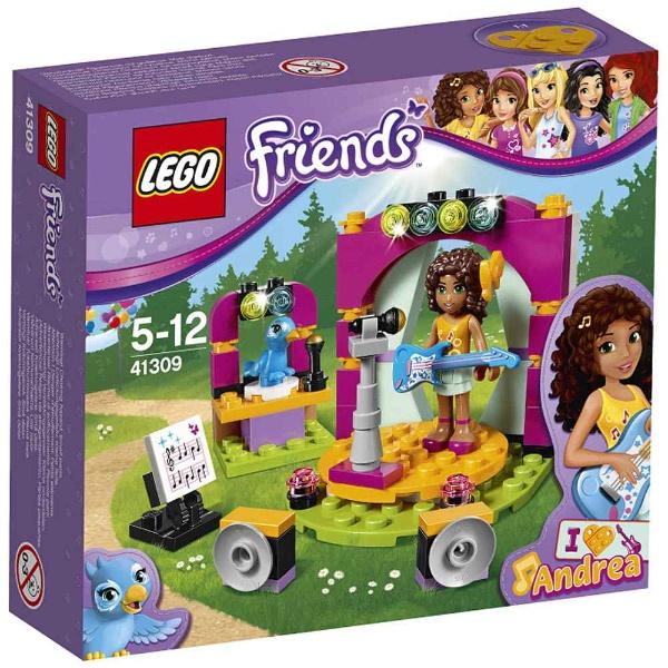Lego朋友安德烈亚的乐曲舞台41309 LEGO Friends智育玩具