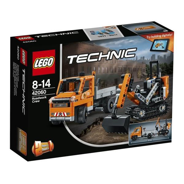 Lego technique roadwork truck & shovel car 42060 LEGO cognitive education toy