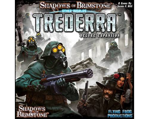 SHADOWS OF BRIMSTONE TREDERRA DELUXE OTHERWORLD EXPANSION (拡張セット) 【並行輸入品】【新品】ボードゲーム アナログゲーム テーブルゲーム ボドゲ