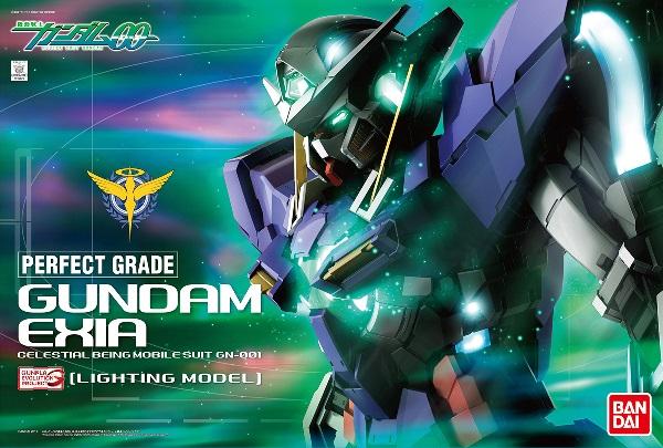 PG 1/60 GN-001 ガンダムエクシア (LIGHTING MODEL) (機動戦士ガンダム00)【新品】 ガンプラ パーフェクトグレード プラモデル