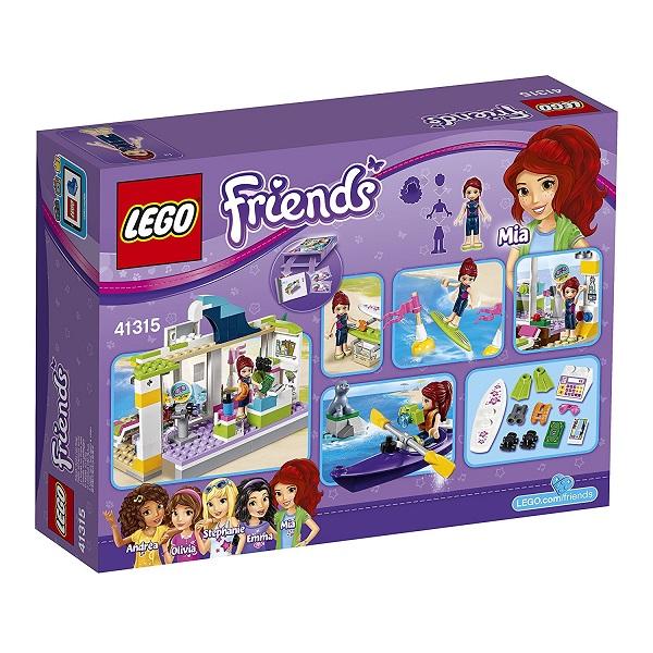 Game And Hobby Kenbill Lego Friends Heart Lake Beach Shop 41315