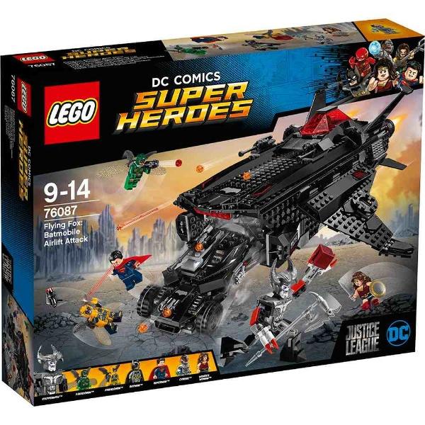 レゴ スーパー・ヒーローズ フライングフォックス:バットモービル・エアーリフト・アタック 76087【新品】 LEGO MARVEL 知育玩具