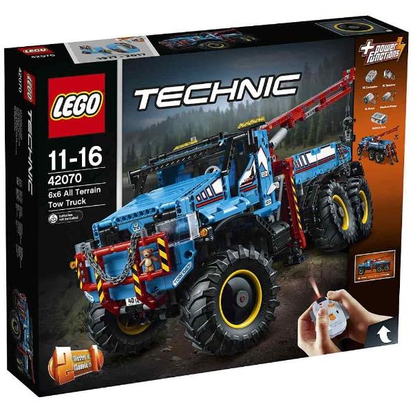 レゴ テクニック 6x6 全地形マグナムレッカー車 6x6 42070【新品】 レゴ LEGO 知育玩具 知育玩具, 藤岡町:94b440bf --- sunward.msk.ru