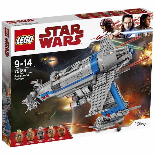 レゴ スター・ウォーズ レジスタンス・ボマー 75188【新品】 LEGO スターウォーズ 知育玩具