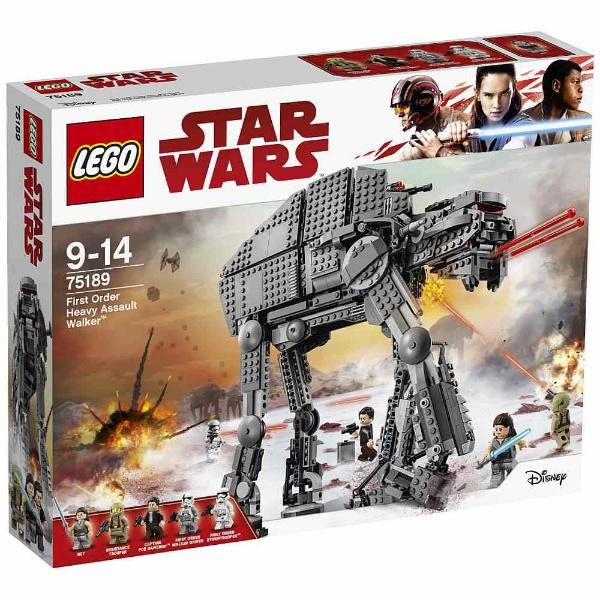 レゴ スター・ウォーズ ファースト・オーダー ヘビー・アサルト・ウォーカー™ 75189【新品】 LEGO スターウォーズ 知育玩具