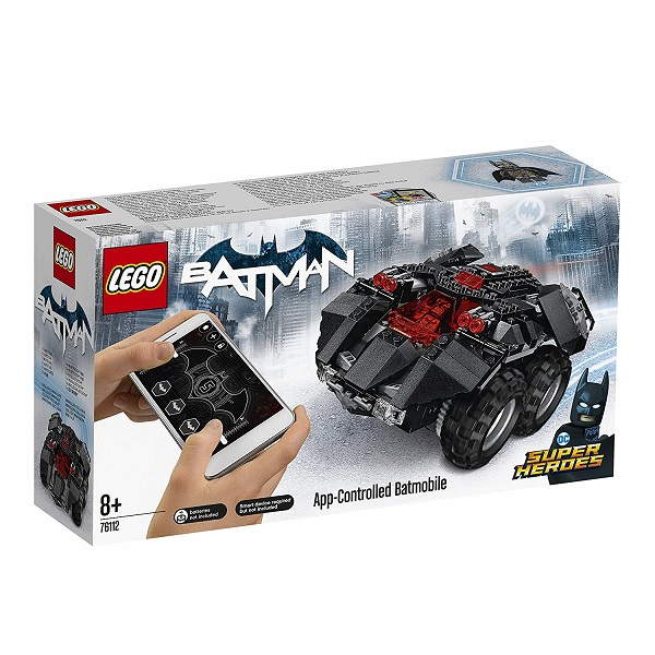 レゴ スーパー・ヒーローズ アプリ操作バットモービル 76112【新品】 LEGO MARVEL 知育玩具