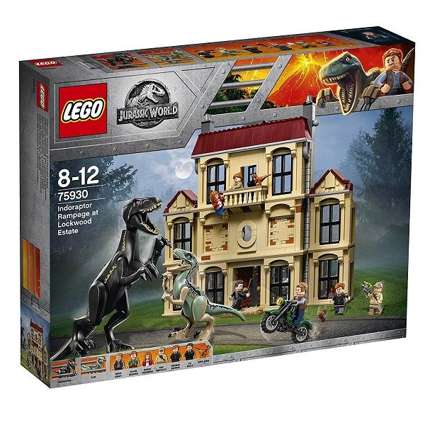 レゴ ジュラシックワールドインドラプトル、ロックウッド邸で大暴れ 75930【新品】 LEGO 知育玩具