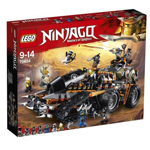 レゴ ニンジャゴー ハンティング・デスストライカー 70654【新品】 LEGO 知育玩具