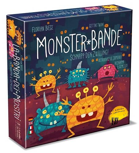 モンスターバンデ(MonsterBande)Kleeblatt社日本語説明書付き【新品】ボードゲームアナログゲームテーブルゲームボドゲクリスマスプレゼント【宅配便のみ】