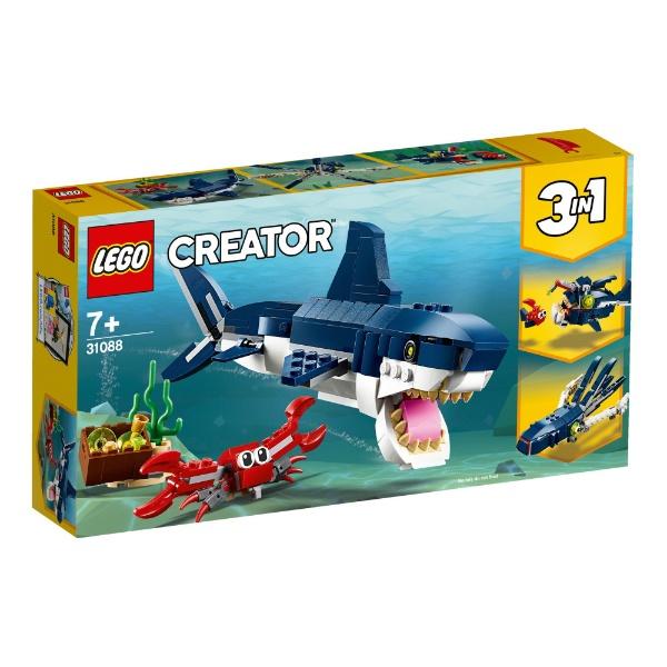 レゴクリエイター深海生物31088【新品】LEGO知育玩具【宅配便のみ】