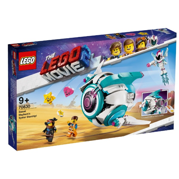 レゴ ムービー メイヘム将軍のシスター・スターシップ 70830【新品】 LEGO MOVIE 知育玩具