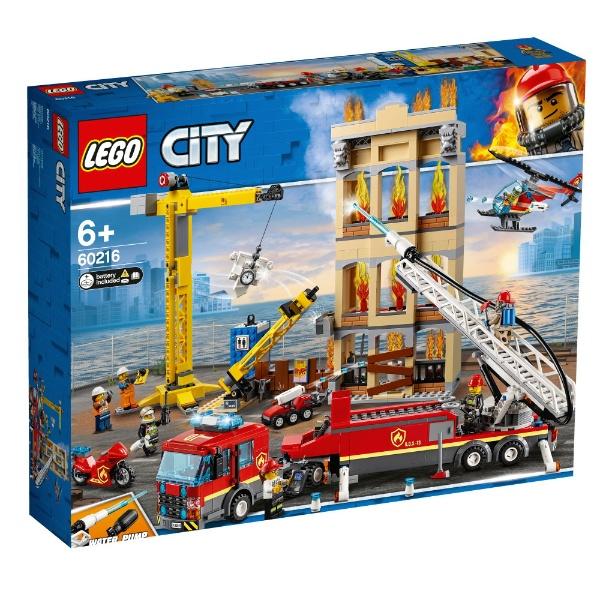 レゴ シティ レゴシティの消防隊 60216【新品】 LEGO 知育玩具