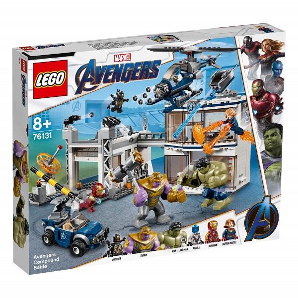 レゴ スーパー・ヒーローズ アベンジャーズ・コンパウンドでの戦い 76131【新品】 LEGO MARVEL 知育玩具