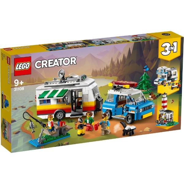 レゴ クリエイター ホリデーキャンプワゴン 31108【新品】 LEGO 知育玩具