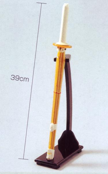 ミニ竹刀セット 竹刀 鍔 タイムセール 送料0円 鍔止 立て台