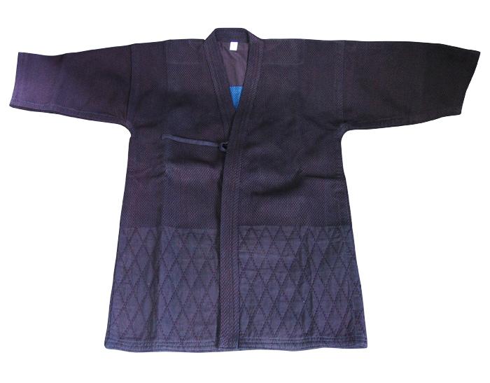 【二剣】普通型(背継ぎ無し)湯通し済み剣道着