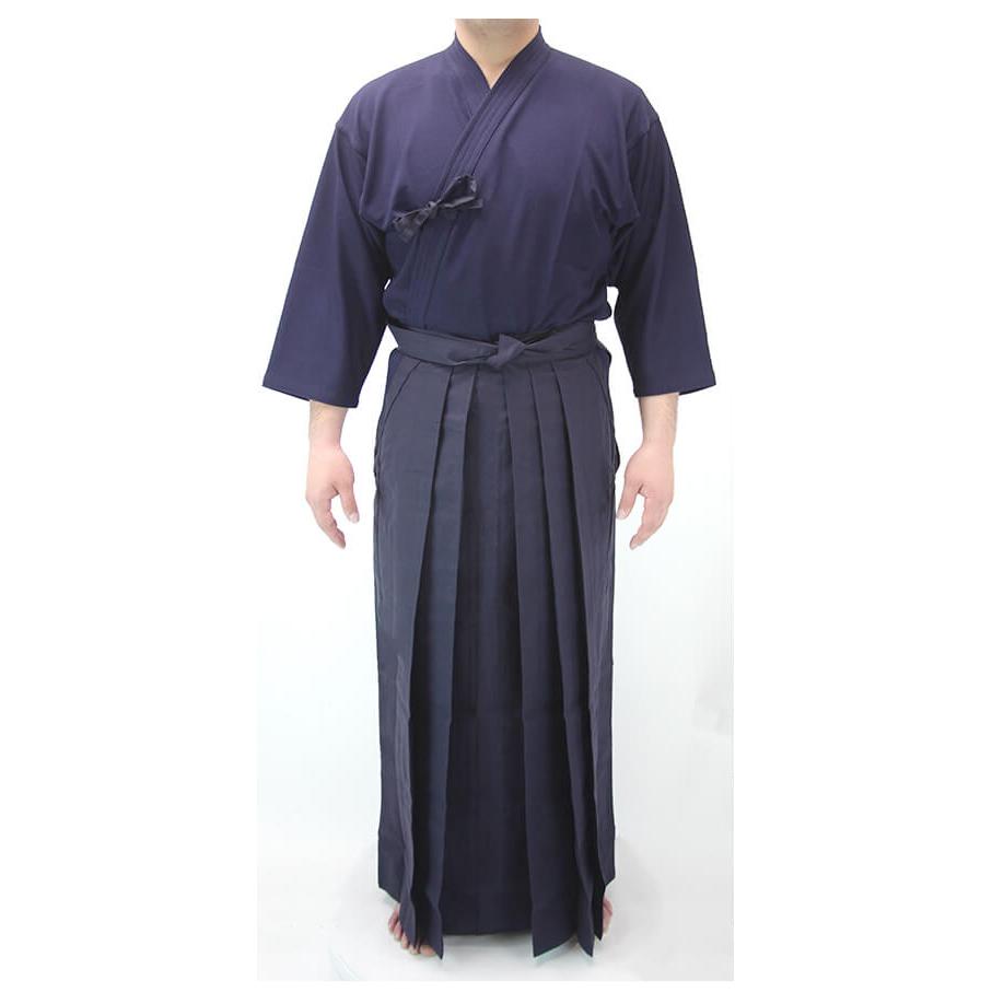 人気 洗いかえにおすすめ 織刺風ジャージ剣道着ポリエステル袴セット 格安 価格でご提供いたします