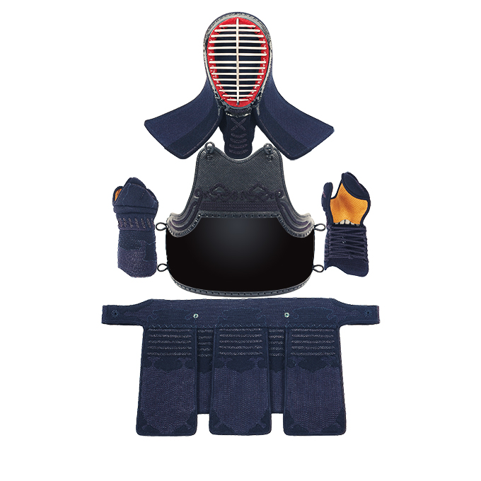 フィットステッチ5ミリ刺クラリーノ剣道防具セット【サイズ交換保証・送料無料】