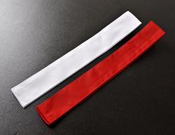 剣道用紅白たすき 紅白2本1組 格安激安 ゆうパケット発送可 予約