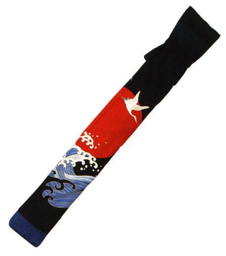鶴 ☆国内最安値に挑戦☆ 5☆好評 略式三本入竹刀袋