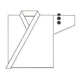 お買い得品 剣道衣 左肩口 刺繍 約3 1文字300円 3cm NEW x