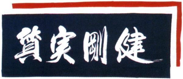 剣道用 正規激安 面手拭 公式ストア ゆうパケット発送可 質実剛健