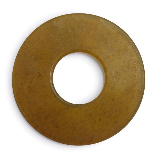 竹刀用極上特選革鍔5mm厚 剣道 竹刀付属品 保証 日本メーカー新品 革ツバ