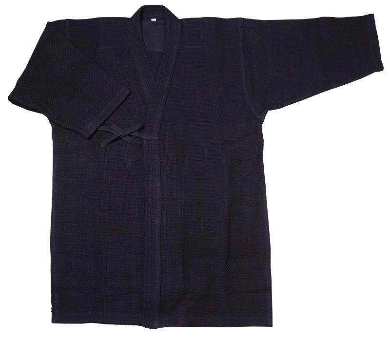 -Indigo-dyed Singlet Kendo wear (jacket)