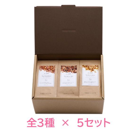 ティートリコ ギフトセットS 5セットTEAtriCO ギフトセット ノンカフェイン ギフ_包装 ドライフルーツ プレゼント 送料無料お手入れ要らず 食べるお茶