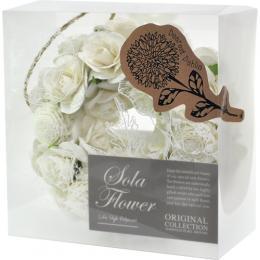 new 爆買い新作 Sola Flower ソラフラワー Wreath お求めやすく価格改定 リース Dearest Dahlia ディアレスト ギフト 記念日 ソープフラワー インテリア ブライダル 結婚祝い 選べるメッセージカード ダリア無料メッセージカード