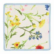 海外輸入 驚きの値段 フェイラータオルハンカチ FLOWER MEADOW breezeギフト 吸水性 父の日 丈夫 シュニール織 母の日
