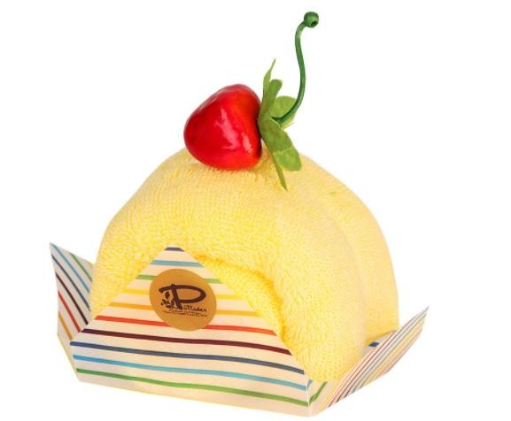 日本製 今治 ケーキタオル ロールケーキ ハンカチ☆マンダリン☆プチギフト 高品質 新着セール かわいい 雑貨 お返し 気質アップ 出産祝い