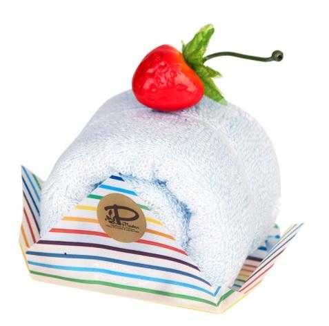 日本製 即出荷 今治 ケーキタオル ロールケーキ ハンカチ☆ミント☆プチギフト 高品質 雑貨 お返し かわいい 超特価SALE開催 出産祝い