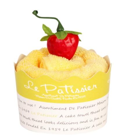 日本製 今治 ケーキタオル カップケーキ ハンカチ☆マンダリン☆プチギフト 出産祝い 毎週更新 お返し 当店は最高な サービスを提供します かわいい 雑貨 高品質
