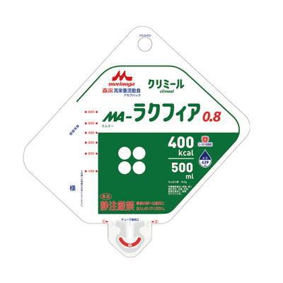 クリニコ MA-ラクフィア 0.8 アセプバッグ 400kcal 500ml×16 【栄養】4000円以上で送料無料(北海道・沖縄・東北6県除く)