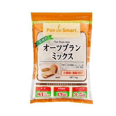 低糖質 高食物繊維 高たんぱく質 低糖質オーツブランミックス 特価キャンペーン 1kg 税込 新生活 3980円 食品 以上で送料無料 鳥越製粉