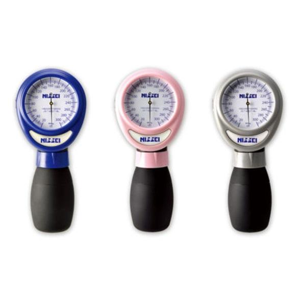 本体と送気球が一体 片手で簡単測定 NISSEI ワンハンド式アネロイド血圧計 HT-1500 限定価格セール 介護 即納送料無料 バッテリーレス 電池不要 健康管理 送料無料 血圧計 医療