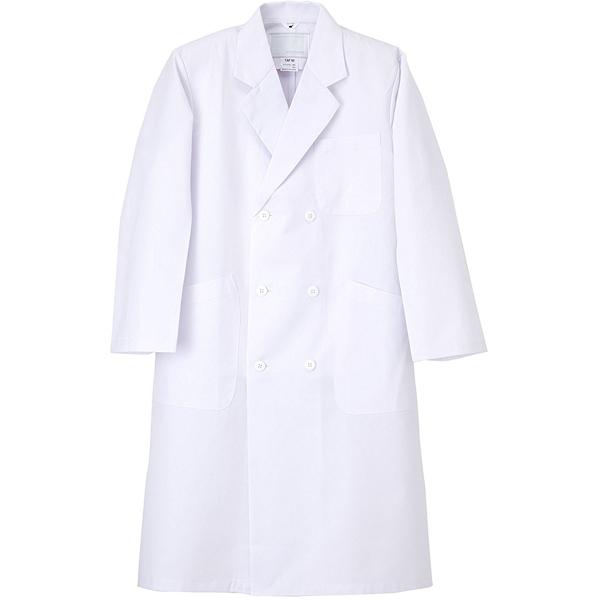 TAP-60 男子ダブル診察衣 ホワイト LL