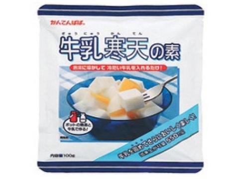 税込3980円以上で送料無料 沖縄 一部離島は除く 送料無料 卸売り 一部地域を除く 100g 牛乳寒天の素