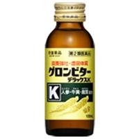 ≪送料無料≫【第2類医薬品】グロンビターデラックスK (100mL×2)×25