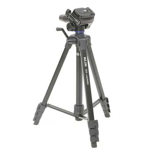 送料無料 スマホもカメラもビデオも対応できるファミリー向け三脚 スーパーセール期間限定 即配 アイテム勢ぞろい KT GXシリーズ GX-m6400 スリック SLIK スマホホルダー組み込みクイックシュー付き 三脚 あす楽対応