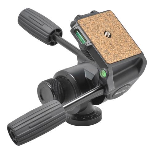 【4/26 1:59までポイント10倍】【即配】 SLIK スリック 3ウェイ雲台 SH-807 N 超望遠レンズや大型カメラにも対応【送料無料】【あす楽対応】【アウトレット】