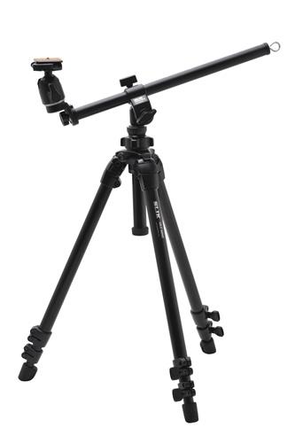 【即配】 SLIK スリック 三脚 エイブル 300 HC スライディングアームII装備、近接撮影に!【送料無料】【あす楽対応】【アウトレット】