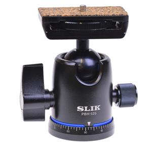 【即配】 SLIK スリック 自由雲台 PBH-525 パイプ径26mm-32mmの中型から大型の三脚に。【送料無料】【あす楽対応】【アウトレット】