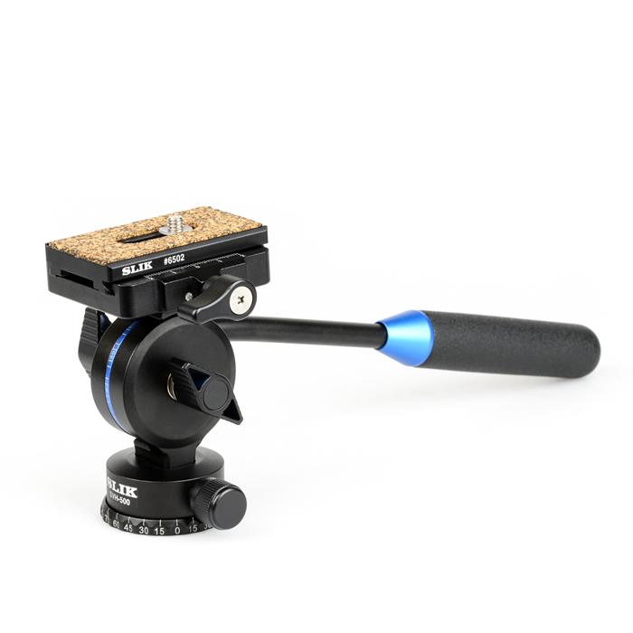 【即配】 SLIK スリック ビデオ雲台 SVH-500 【送料無料】【あす楽対応】